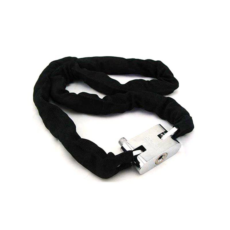 Chain Anti-theft Lock for Motorcycle - BLACK