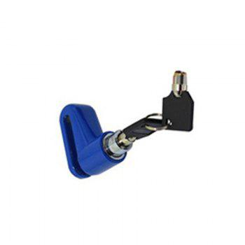 Mountain Bike Disc Brake Safety Anti-theft Lock Cycling Equipment Bicycle Accessories - BLUE