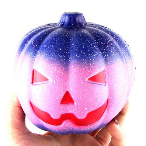 12CM Night Star Pumpkin Soft Slow Rising Toy Made By Enviromental PU Material - COLORMIX
