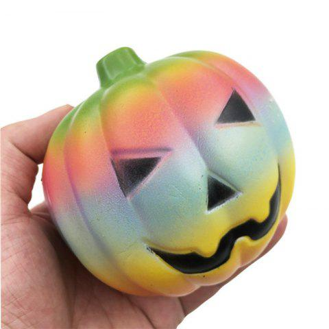 12CM Colorful Pumpkin Soft Slow Rising Toy Made By Enviromental PU Material - COLOUR