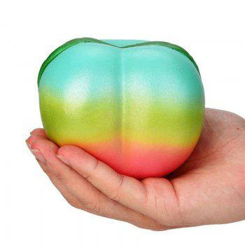 Squishys Slow Rising Stress Relief Soft Toys Replica Rainbow Peach - COLORMIX COLORMIX
