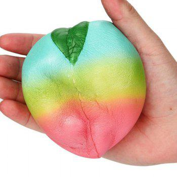 Squishys Slow Rising Stress Relief Soft Toys Replica Rainbow Peach - COLORMIX