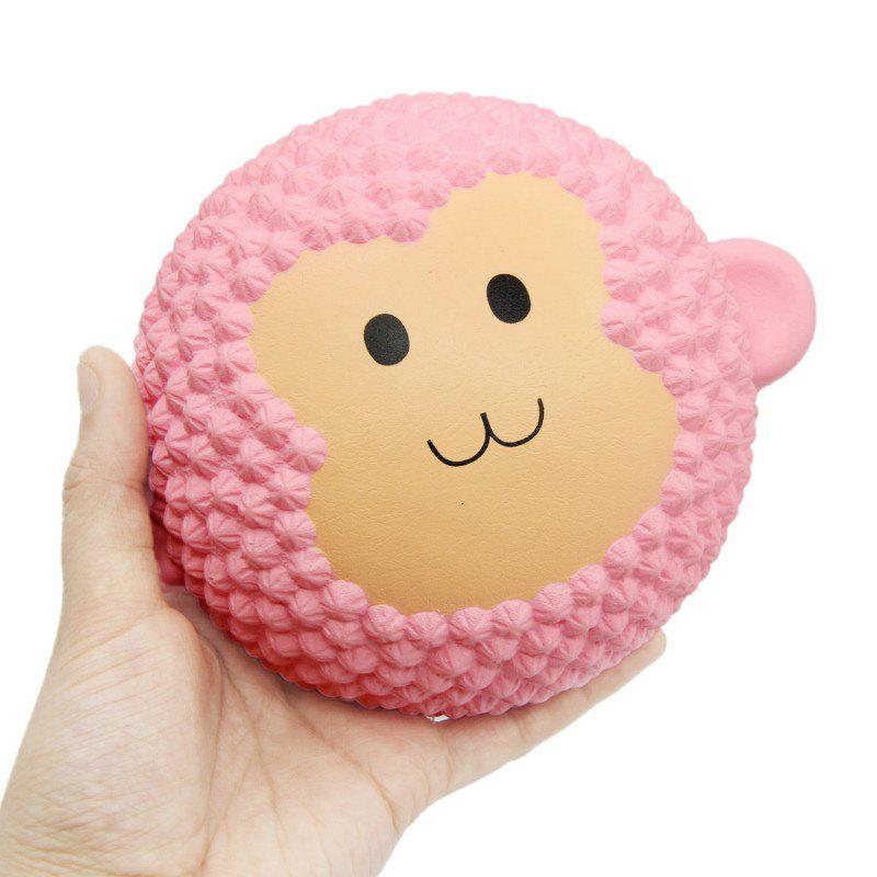 Squishys Slow Rising Stress Relief Soft Toys Replica Monkey Cake - PINK