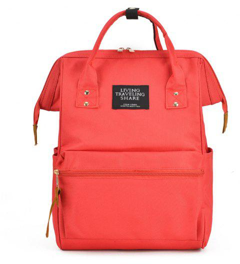 Outdoor Travel Portable Handiness Backpack - RED