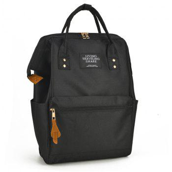 Outdoor Travel Portable Handiness Backpack - BLACK