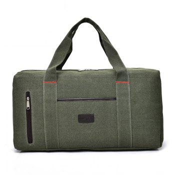 The Large Capacity of Men's Fashion Canvas Bag - GREEN GREEN