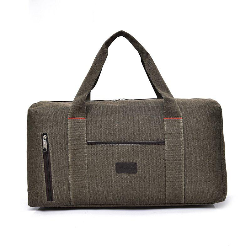 The Large Capacity of Men's Fashion Canvas Bag - KHAKI
