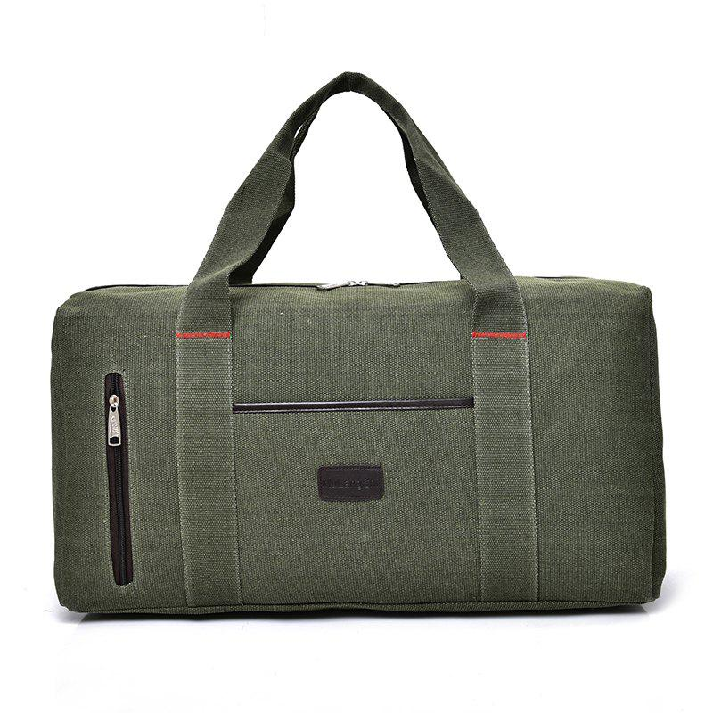 The Large Capacity of Men's Fashion Canvas Bag - GREEN