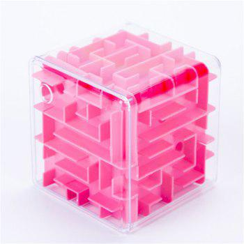 Handheld Labyrinth Walk Bead Toys - RED RED