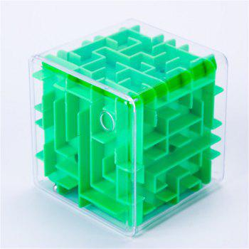Handheld Labyrinth Walk Bead Toys - GREEN GREEN