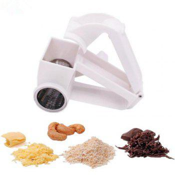 Cheese Nuts Slicer Graters Stainless Steel Ginge Crusher Garlic Hand Press Garlic Slicer Masher Kitchen Tools -  WHITE
