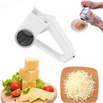 Cheese Nuts Slicer Graters Stainless Steel Ginge Crusher Garlic Hand Press Garlic Slicer Masher Kitchen Tools - WHITE WHITE