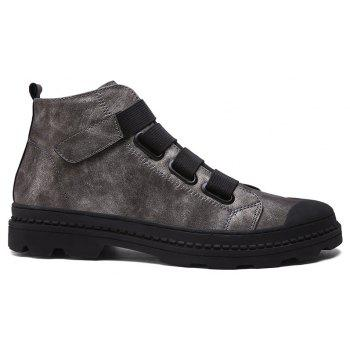 Martin  High Casual Retro Tooling  Trendy Boots - GUN METAL 40