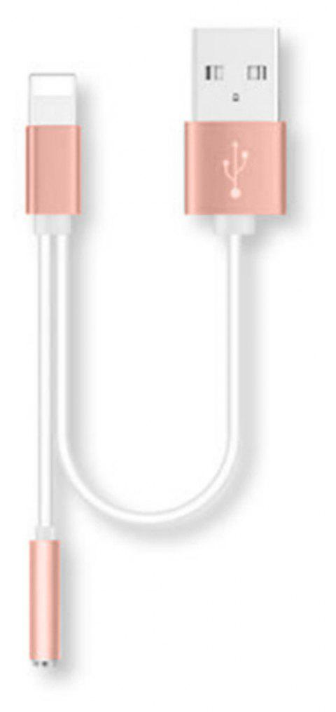 Charging Earphone Adapter for iPhone 7 - RED
