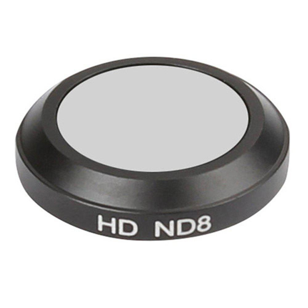 Neutral Density ND8 Lens Filter for DJI Mavic Pro Quadcopter Drone - BLACK