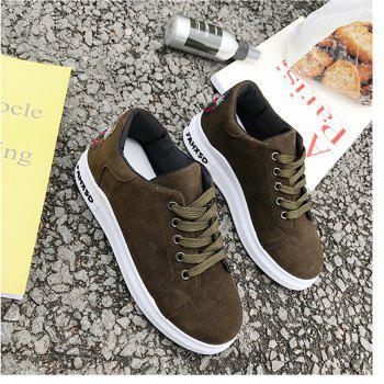 2018 New Style Simple Round Toe Solid Color Cloth Cover Shoes - ARMYGREEN ARMYGREEN