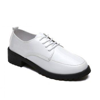 2018 New Style Fashion Comfortable Cloth Round Toe Solid Color Rubber Sole Shoes - WHITE WHITE