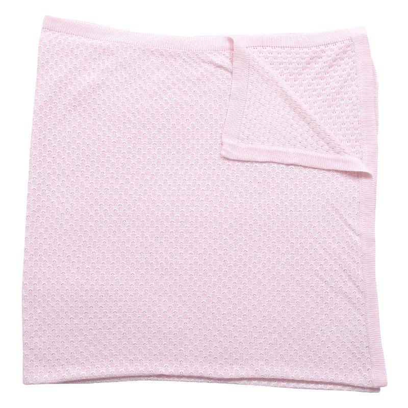 i-baby Newborn Infant Baby Wrap Bamboo Fiber Swaddling Solid Blanket Children - PINK