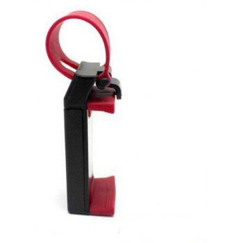 Car Steering Wheel Mount Holder Rubber Band For iPhone iPod MP4 GPS keeper - RED
