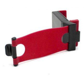 Car Steering Wheel Mount Holder Rubber Band For IPhone IPod GPS Keeper - RED