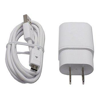 Travel Adapter Fast Charger Cable for G4 G Flex 2 V10 - WHITE WHITE