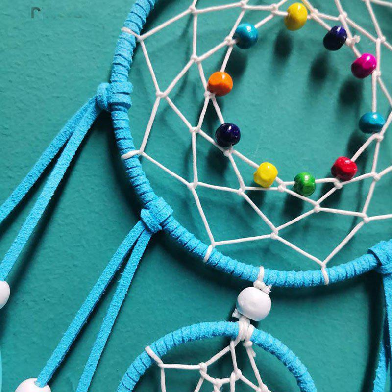 The New Large Feather Dreamcatcher - BLUE