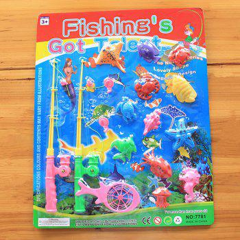 Marine Fish Child Favorite Fishing Toy with Magnet - COLORMIX COLORMIX