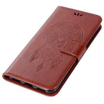 Owl Campanula Fashion Wallet Cover For Asus Zenfone 4 Selfie ZD553KL Case Phone Bag With Stand PU Flip Leather Case - BROWN