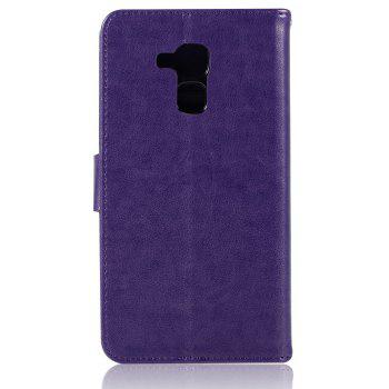 Owl Campanula Fashion Wallet Cover For Huawei Honor 5C / Honor 7 Lite Case PU Flip Leather Case Phone Bag With Stand - DAHLIA