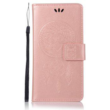 Owl Campanula Fashion Wallet Cover For Huawei Honor 8 Case PU Luxury Retro Flip Leather Case Phone Bag With Stand - ROSE GOLD