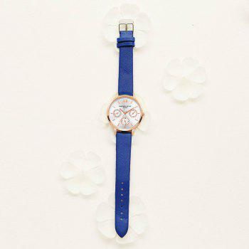 Lvpai P093-R Women Casual Leather Strap Quartz Watches -  ROYAL