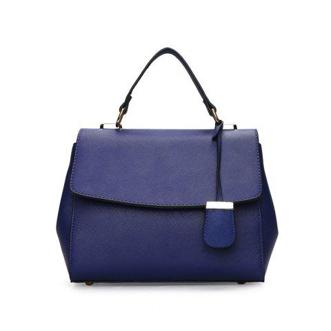 Fashionable Simple Wild Shoulder Messenger Bag - BLUE