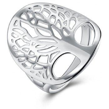 Women s Fashion Ring Delicate Carving Silver