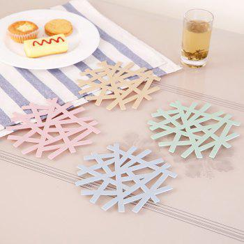 Anti-hot Insulation Coasters 4PCS - multicolorCOLOR