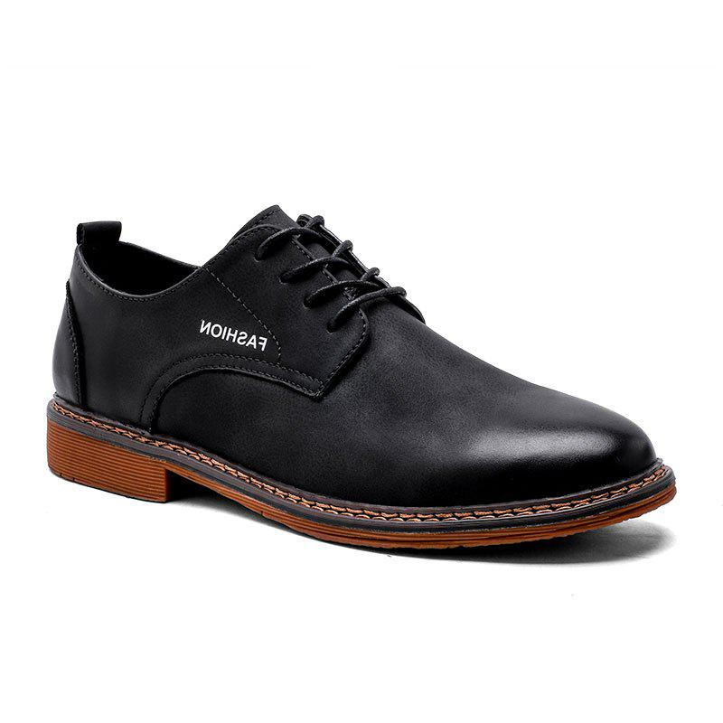 Classic Casual Shoes for Men - BLACK 44