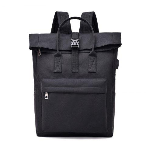 Backpack Large-Capacity Travel Computer Bag - BLACK