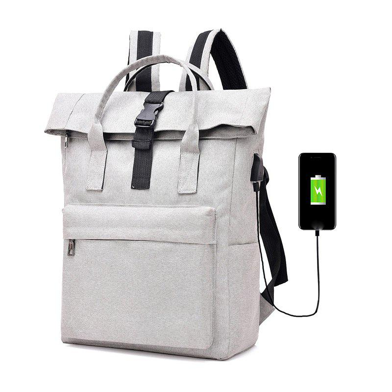 Backpack Large-Capacity Travel Computer Bag - GRAY