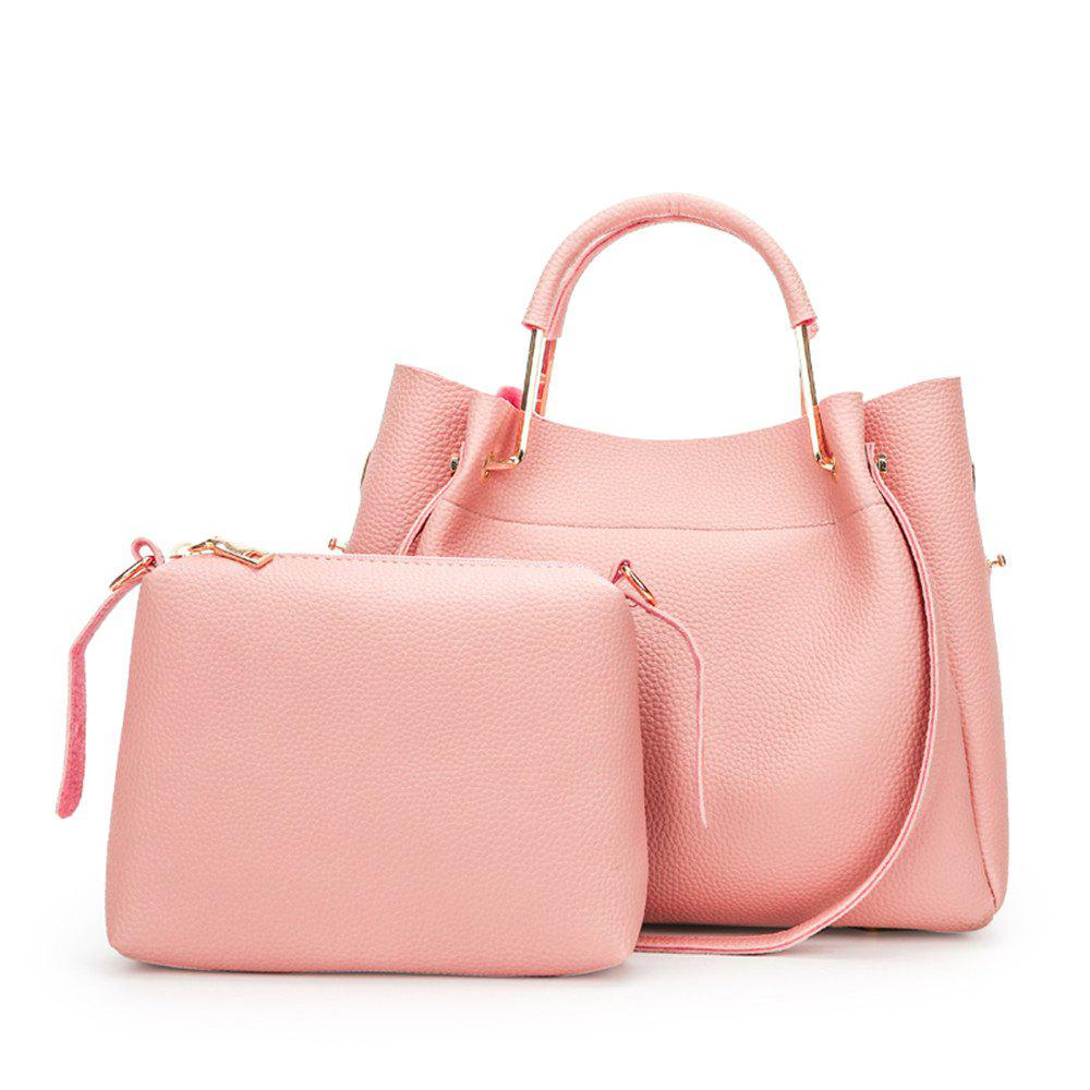 High-Capacity Two-Piece Package - PINK