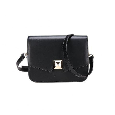 Wild Shoulder Messenger Girls Small Square Package - BLACK