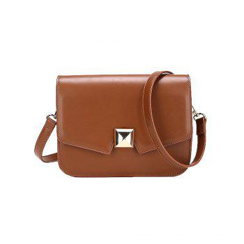 Wild Shoulder Messenger Girls Small Square Package - BROWN BROWN