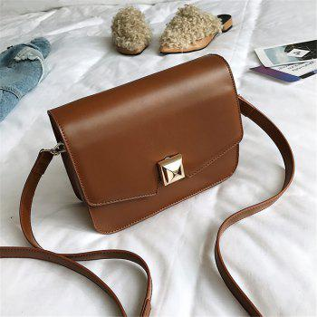 Wild Shoulder Messenger Girls Small Square Package - BROWN