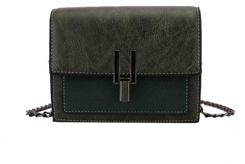 Fashion Wild Girls Shoulder Messenger Bag - GREEN