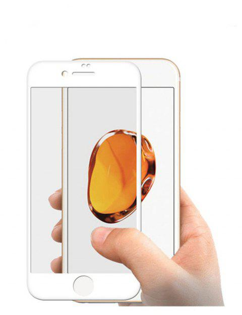 Film de protection en verre HD 9H 2.5D pour Iphone 6 - Blanc