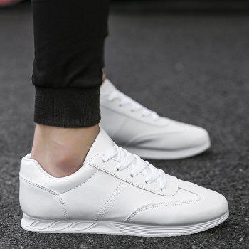New Youth Fashion Trend Shoes - WHITE 43