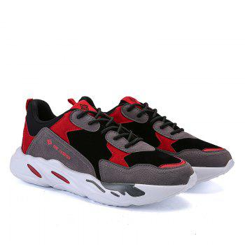 New Cushion Fight Color Sports Shoes - BLACK/RED 41