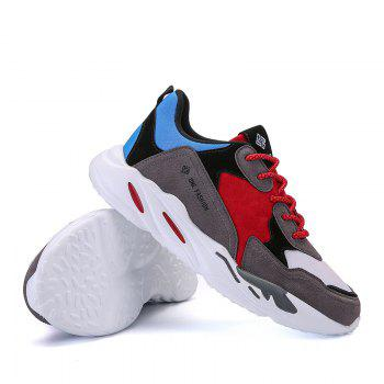 New Cushion Fight Color Sports Shoes - BLUE/GRAY BLUE/GRAY