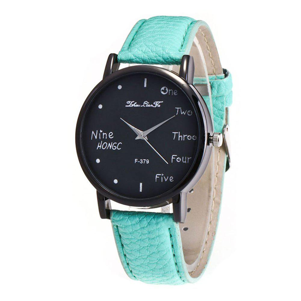 Zhou Lianfa Simple Casual Black Watch - MINT