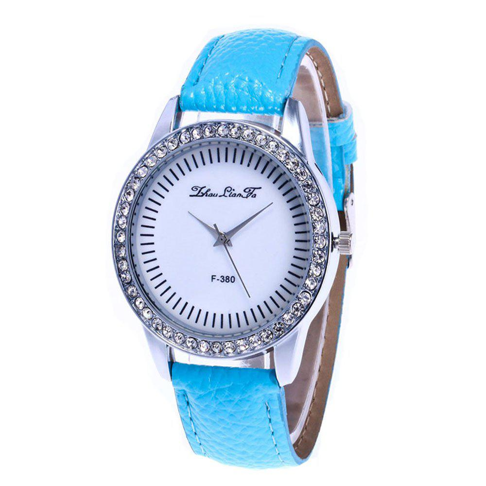 Zhou Lianfa Set A Diamond Watch - LIGHT BLUE