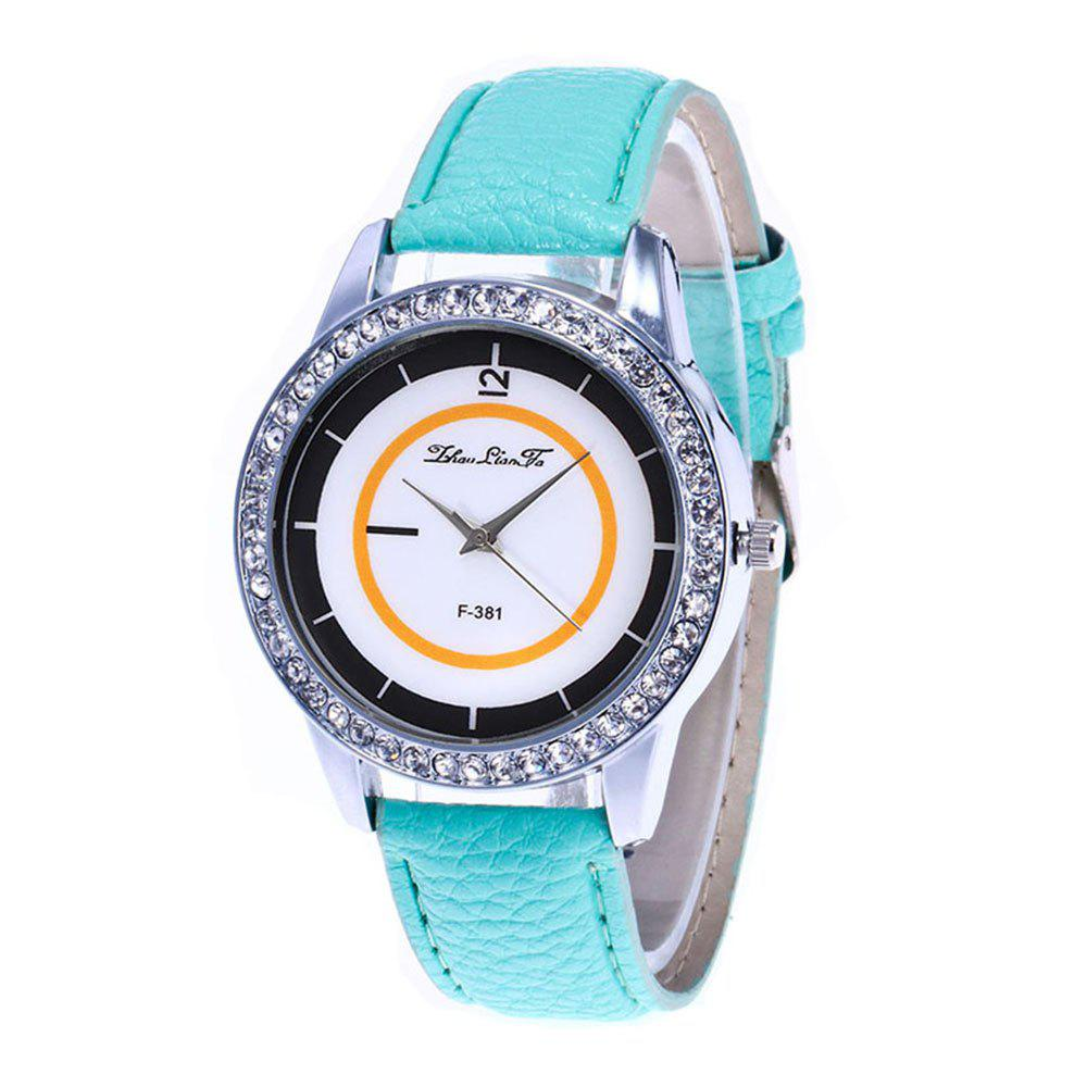 Zhou Lianfa Fashion Trend Personality Leisure Watch - MINT