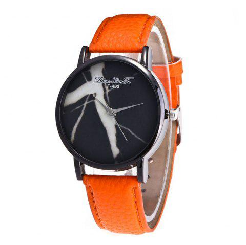 Zhou Lianfa Fashion Trend High-End 100 Watches - ORANGE